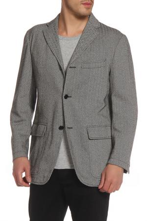 Пиджак Massimo Rebecchi. Цвет: серый гусиная лапка