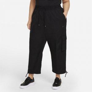 Женские брюки карго Nike Sportswear Icon Clash (большие размеры) - Черный