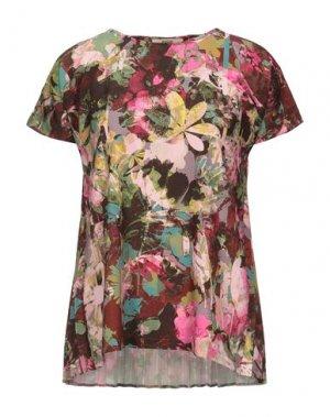 Блузка FUZZI. Цвет: фуксия