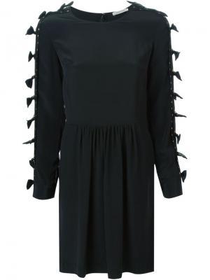 Платье с бантами Emma Cook. Цвет: чёрный