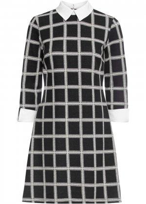 Платье в офисном стиле bonprix. Цвет: черный