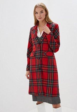 Пальто Baon. Цвет: красный