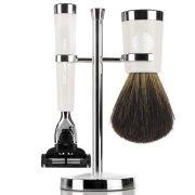 Набор аксессуаров для бритья Gentlemens Tonic Savile Row Set - Ivory