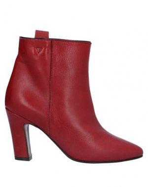 Полусапоги и высокие ботинки LORENA PAGGI. Цвет: красно-коричневый