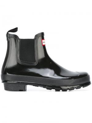 Ботинки Челси Hunter. Цвет: черный