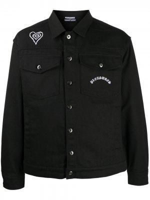 Куртка из коллаборации с Marilyn Manson Pleasures. Цвет: черный