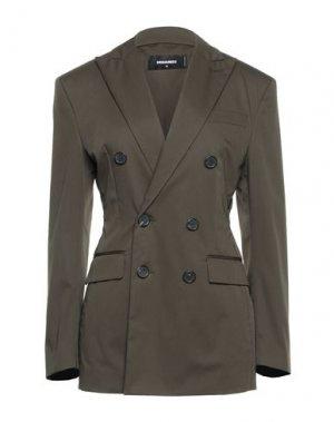 Пиджак DSQUARED2. Цвет: темно-зеленый