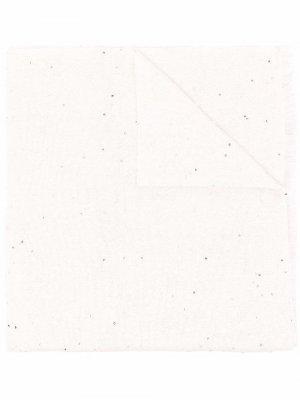 Кашемировый шарф с пайетками Brunello Cucinelli. Цвет: нейтральные цвета