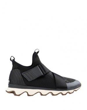 Низкие кеды и кроссовки SOREL. Цвет: черный