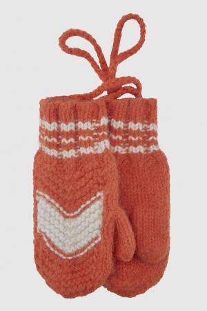 Варежки Frosty Caramel Baby&Child. Цвет: оранжевый