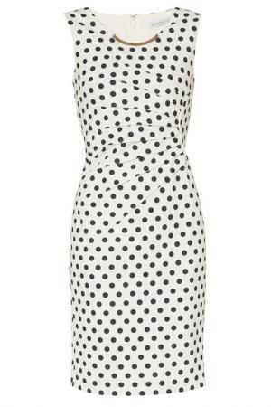 Платье Gina Bacconi. Цвет: white, black