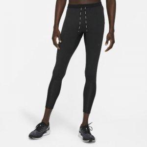 Мужские беговые тайтсы Dri-FIT Swift - Черный Nike