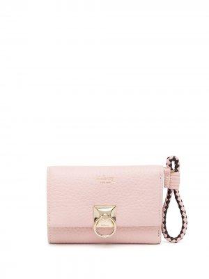 Бумажник Iris Mulberry. Цвет: розовый