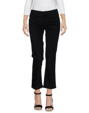 Джинсовые брюки-капри CYCLE. Цвет: черный