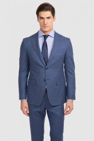 Костюмный пиджак приталенный из шерсти KANZLER