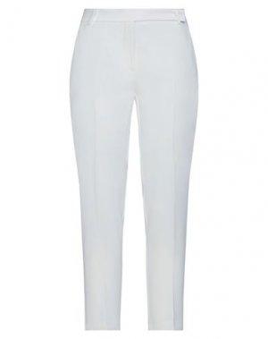 Повседневные брюки PINKO. Цвет: белый