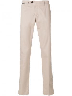 Классические брюки чинос Eleventy. Цвет: neutrals