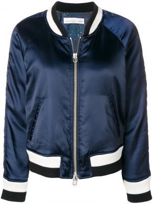 Куртка-бомбер с полосками Golden Goose