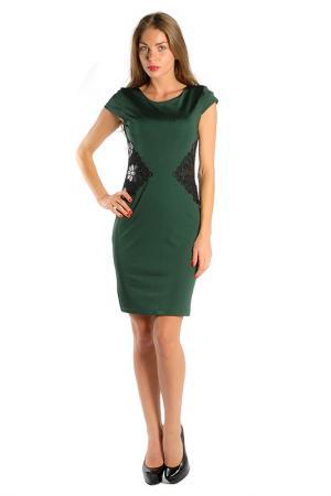 Платье Miarte. Цвет: зеленый