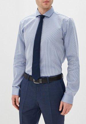 Рубашка Hugo. Цвет: голубой