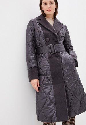 Куртка утепленная Grand Style. Цвет: серый