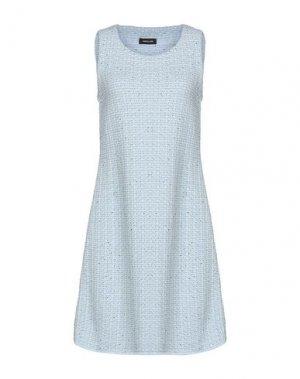 Короткое платье ANNECLAIRE. Цвет: небесно-голубой