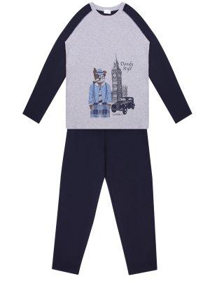 Пижама с принтом хлопковая LA PERLA