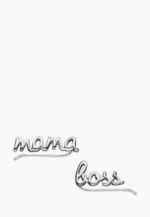 Каффы Wanna?Be! Mama/ boss. Цвет: серебряный