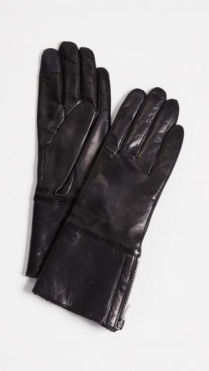 Tech Leather Gloves Carolina Amato