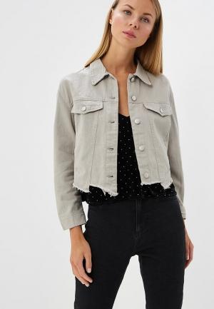 Куртка джинсовая B.Style. Цвет: серый