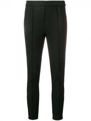 Cropped leggings Tory Burch. Цвет: черный