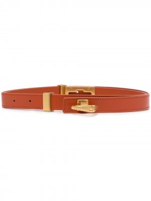 Triangle buckle belt Bottega Veneta. Цвет: оранжевый