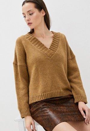 Пуловер Vera Moni. Цвет: коричневый