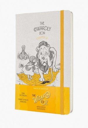 Блокнот Moleskine LE WIZARD OF OZ Large. Цвет: белый