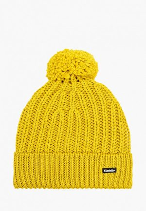 Шапка Eisbar Ilex OS Pompon MÜ. Цвет: желтый