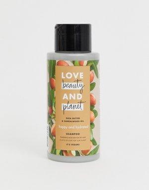 Шампунь с маслом ши и сандалового дерева Love Beauty and Planet