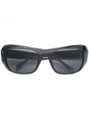 Солнцезащитные очки в стиле оверсайз Celine Eyewear. Цвет: серый