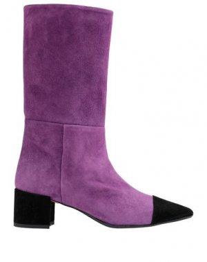 Сапоги ANNA F.. Цвет: фиолетовый