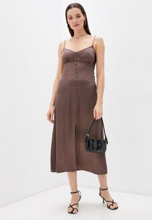 Платье Love Republic Exclusive online. Цвет: коричневый