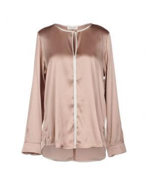 Блузка HOLLY GOLIGHTLY. Цвет: пастельно-розовый