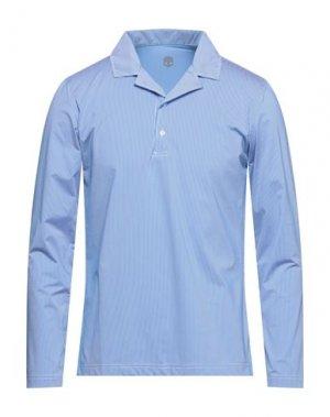 Pубашка HYDROGEN. Цвет: синий
