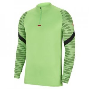 Мужская футболка для футбольного тренинга с молнией 1/4 Nike Dri-FIT Strike