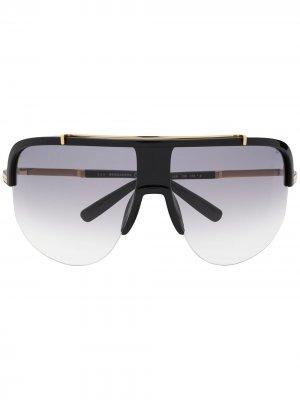 Солнцезащитные очки 05B Dsquared2 Eyewear. Цвет: черный