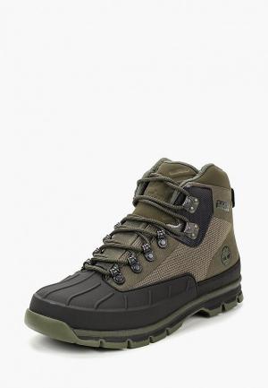 Ботинки трекинговые Timberland EURO HIKER SHELL JAC GRAPE LEAF. Цвет: зеленый