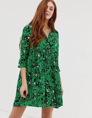 Платье-рубашка мини Erine BA&SH