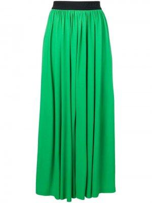 Плиссированная юбка макси MSGM