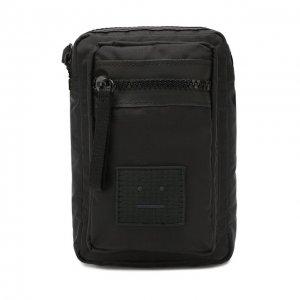 Текстильная сумка Acne Studios. Цвет: чёрный