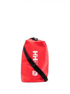 Сумка на плечо XL Ocean Dry с логотипом Helly Hansen. Цвет: красный