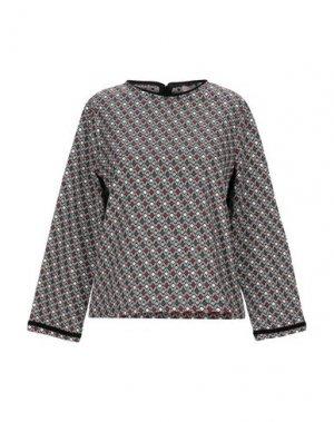 Блузка EMMA & GAIA. Цвет: черный