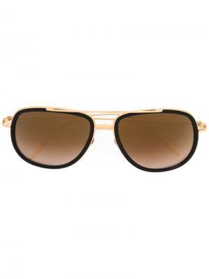 Солнцезащитные очки Awaken Frency & Mercury. Цвет: золотистый